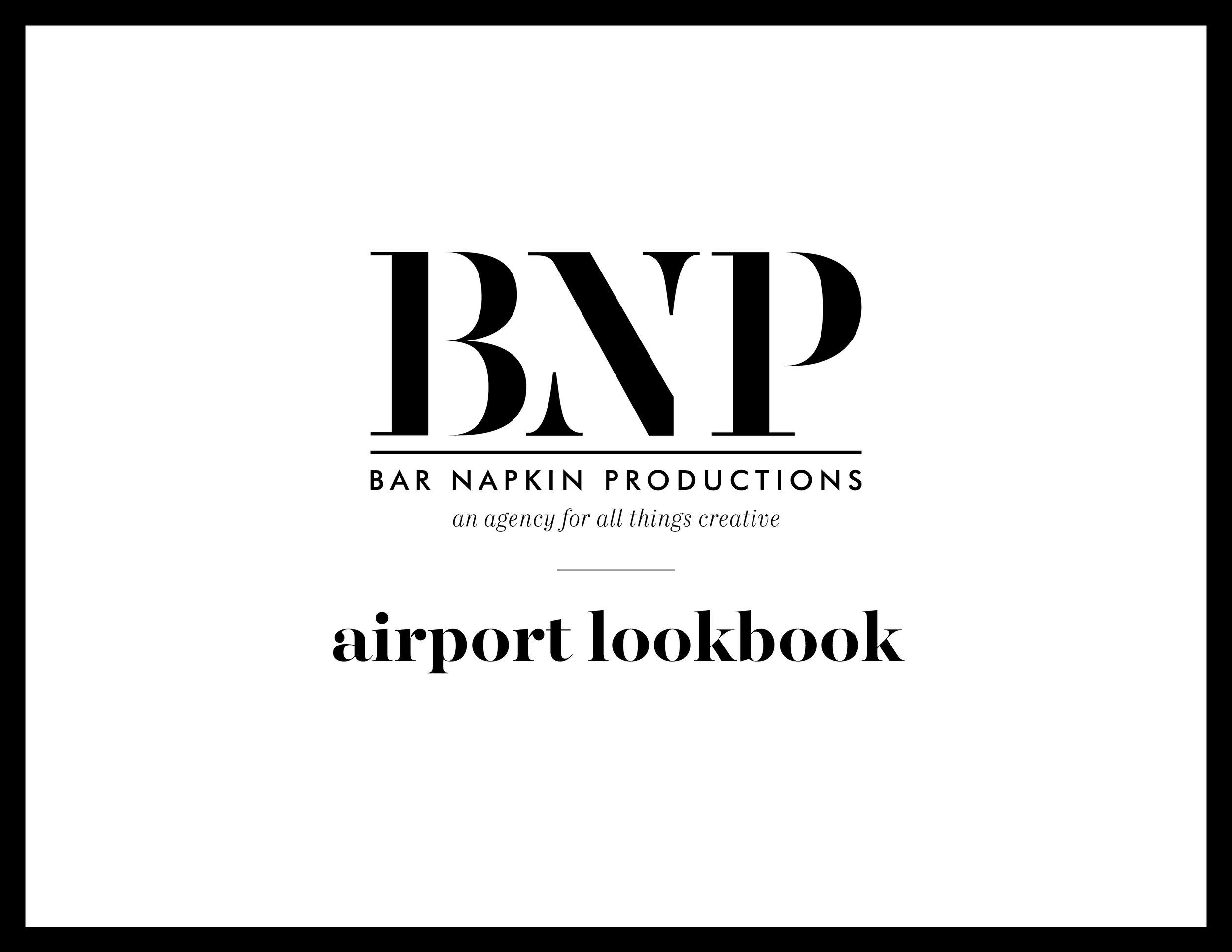 AIRPORT LOOK BOOK