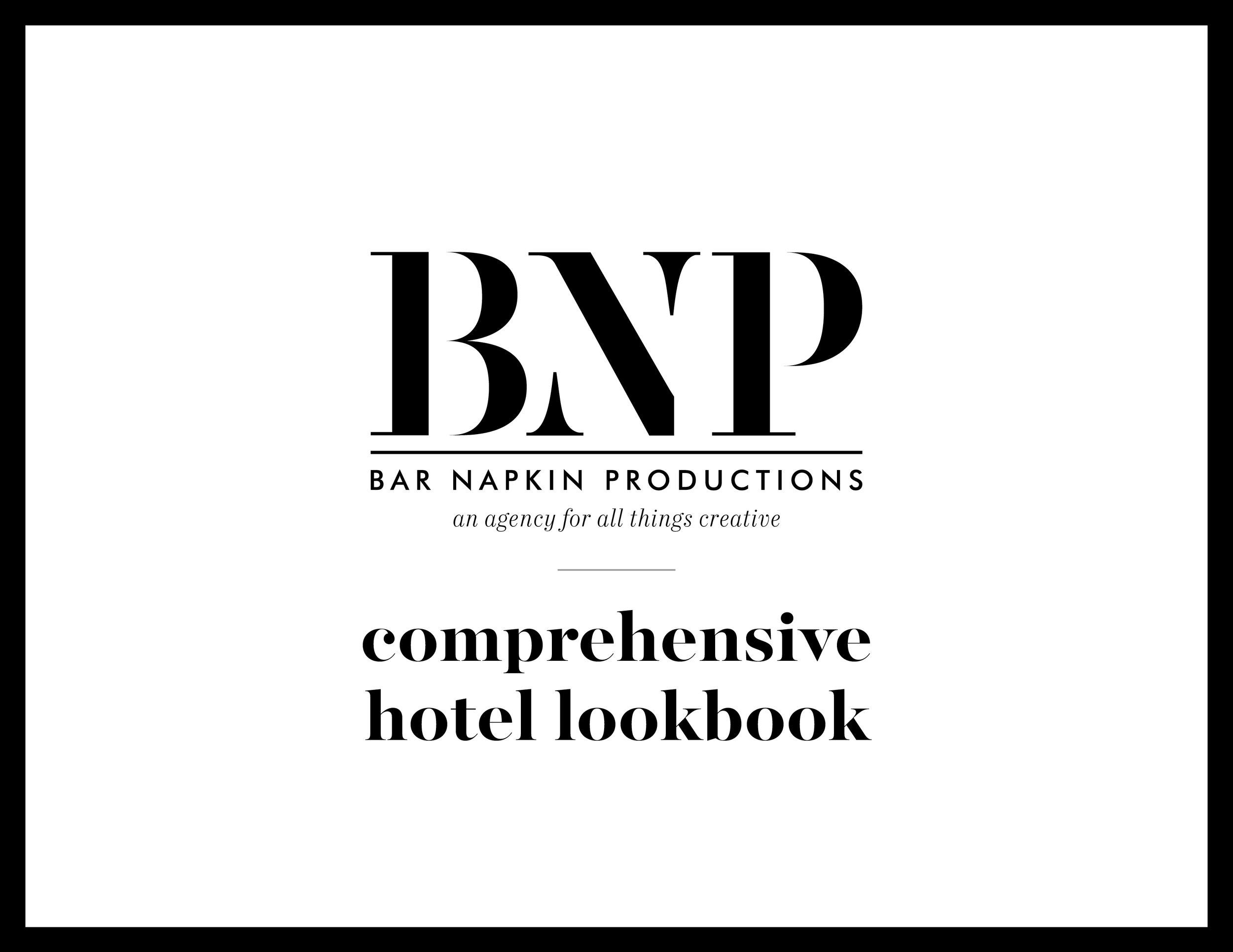 COMPREHENSIVE HOTEL LOOK BOOK