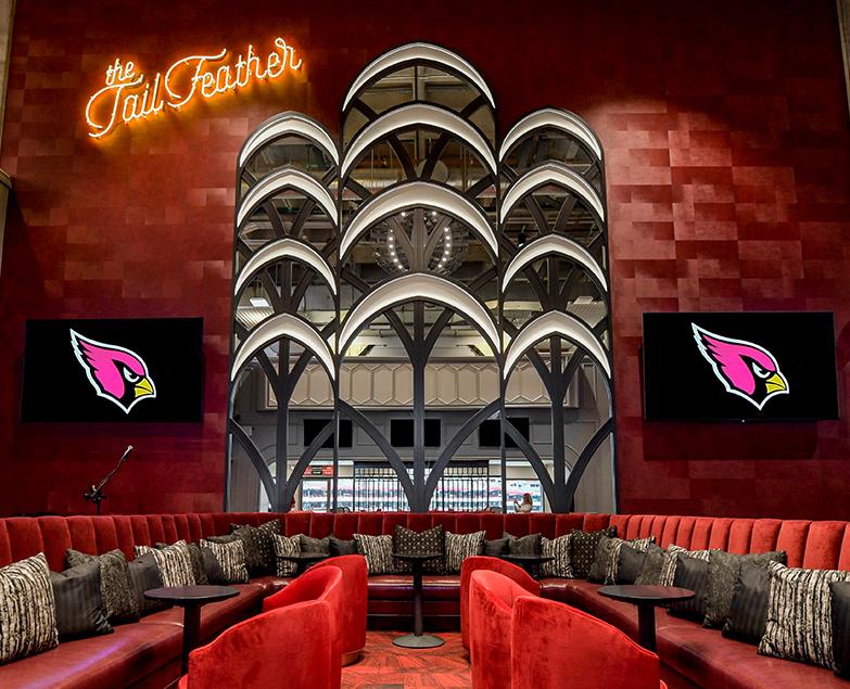 The TailFeather Lounge, Arizona Cardinals State Farm Stadium - Glendale, AZ