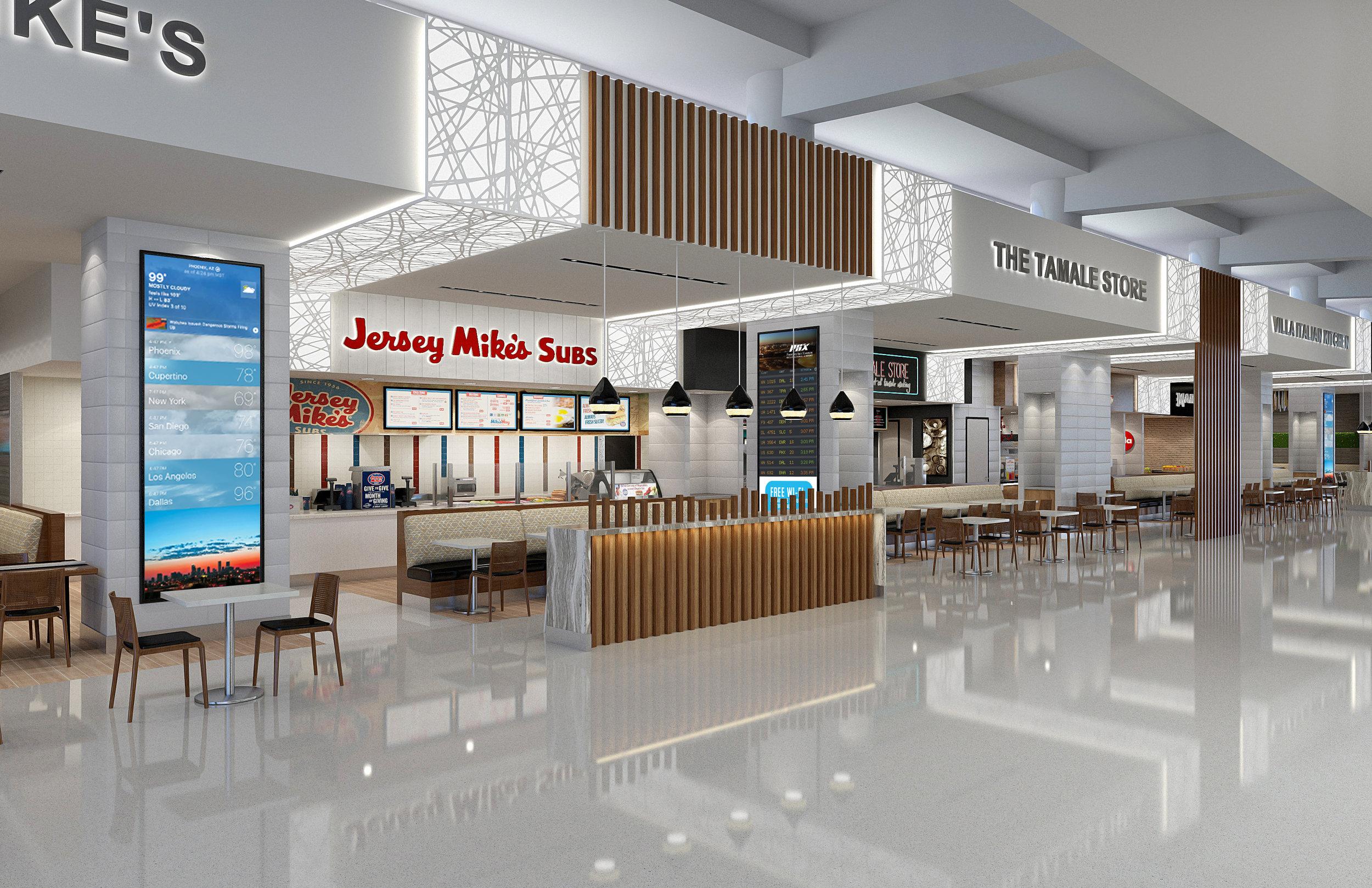 Food Hall - Phoenix Sky Harbor Terminal 3
