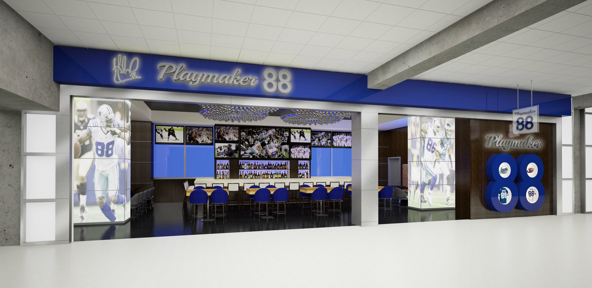 Playmaker 88 - Dallas Forth Worth Airport