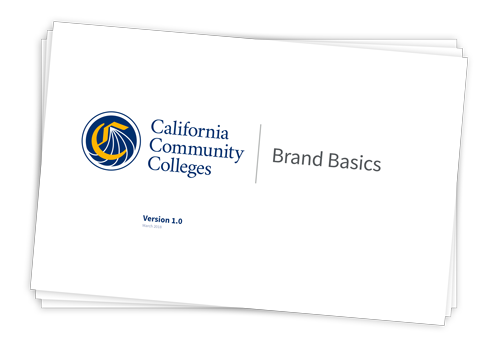Thumbnail of California Community Colleges Brand Basics document