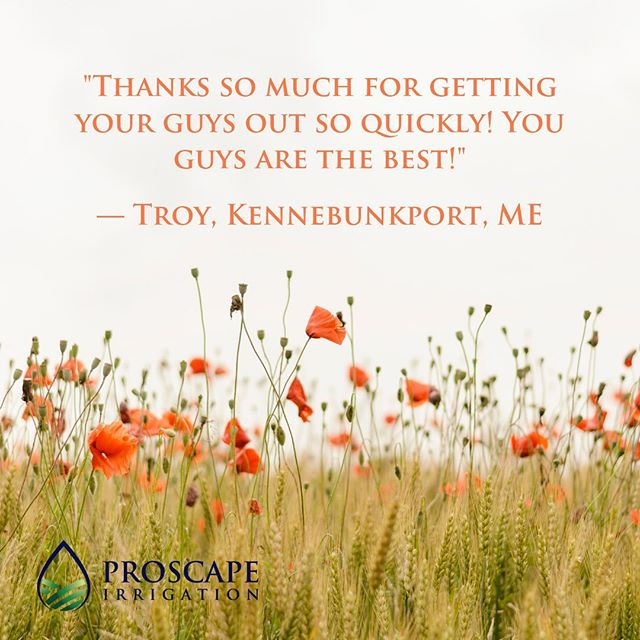 #testimonialtuesday #anotheronefightsthedust #summertime #irrigation #hotweather #morewater