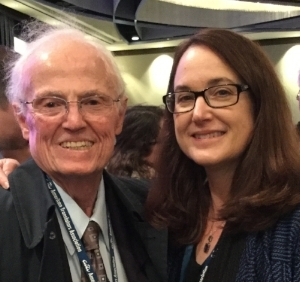 Bill Wood, Founder and Chairman of the Board and Naomi Bowman, President.