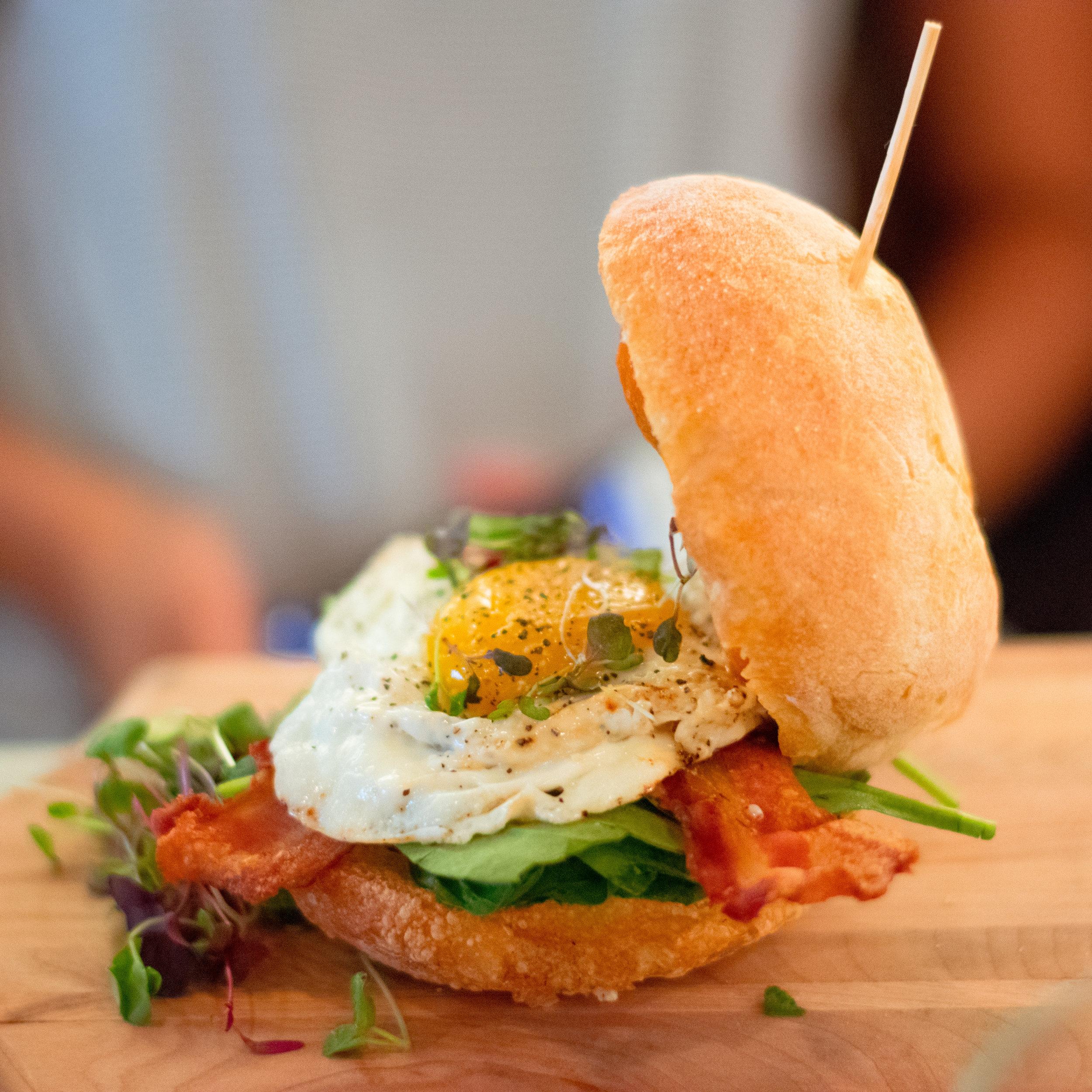 Bluestone lane breakfast hamburger