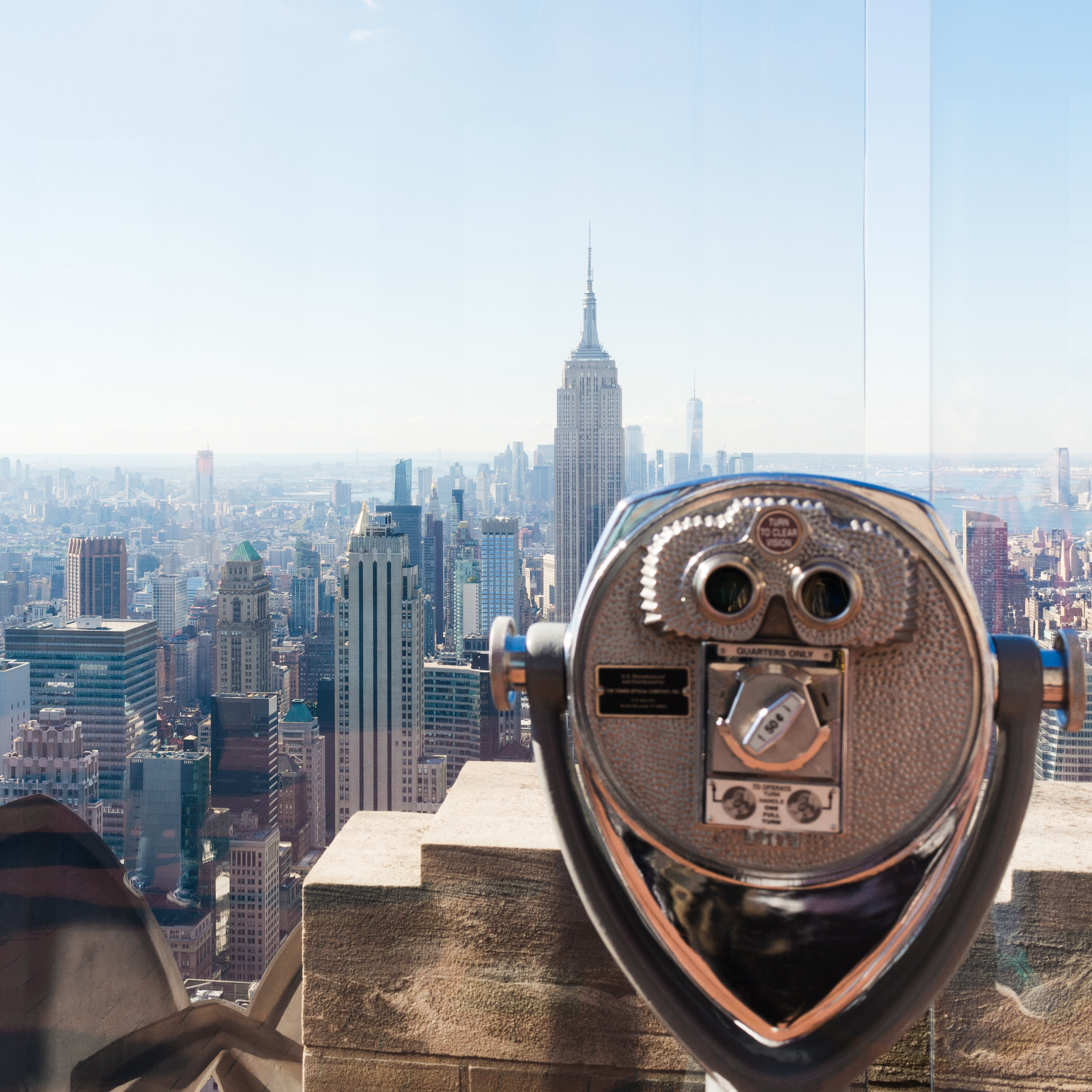 Top of the rock NYC