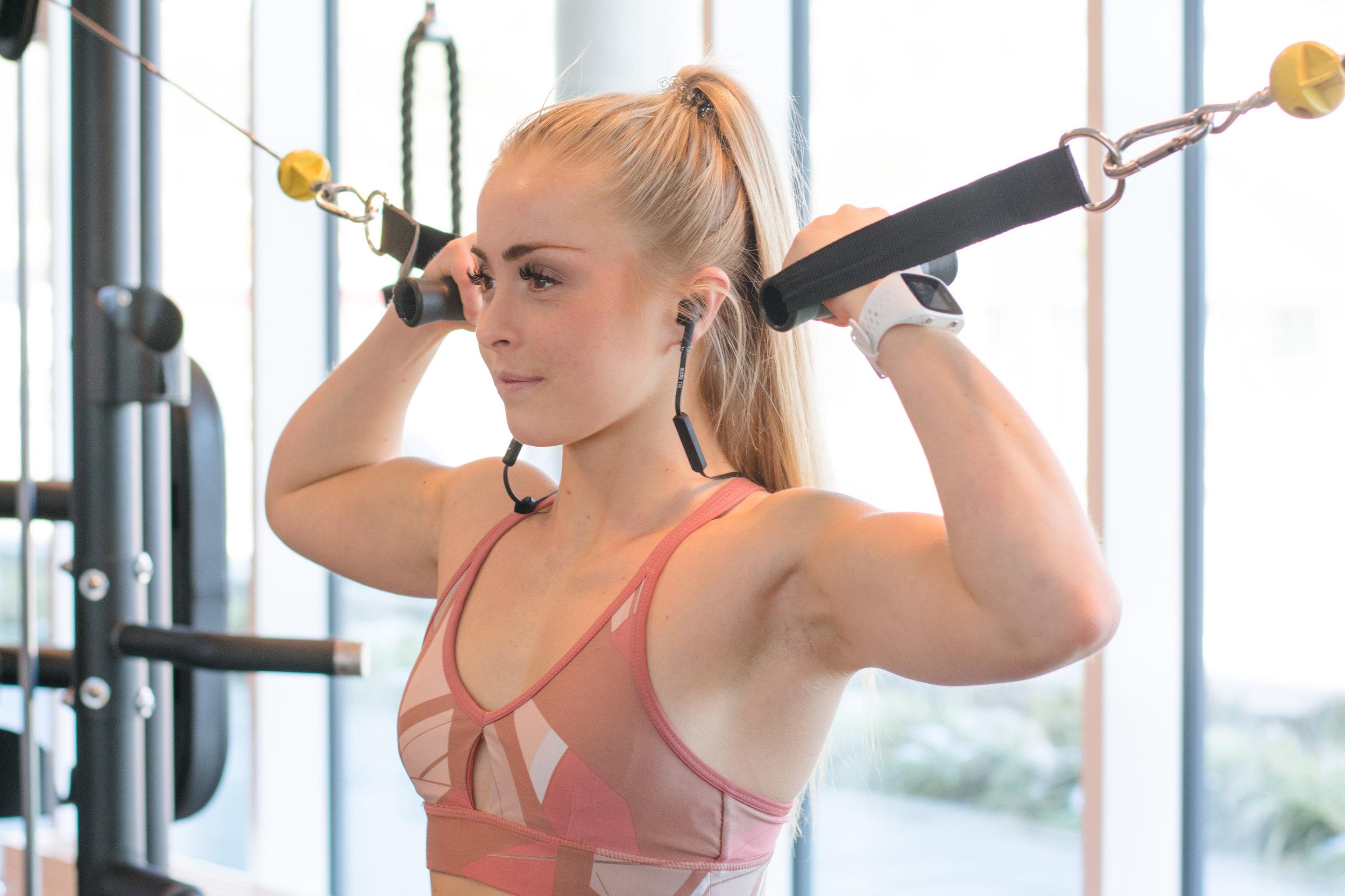 Wall Digital Group Gym fitness shoot