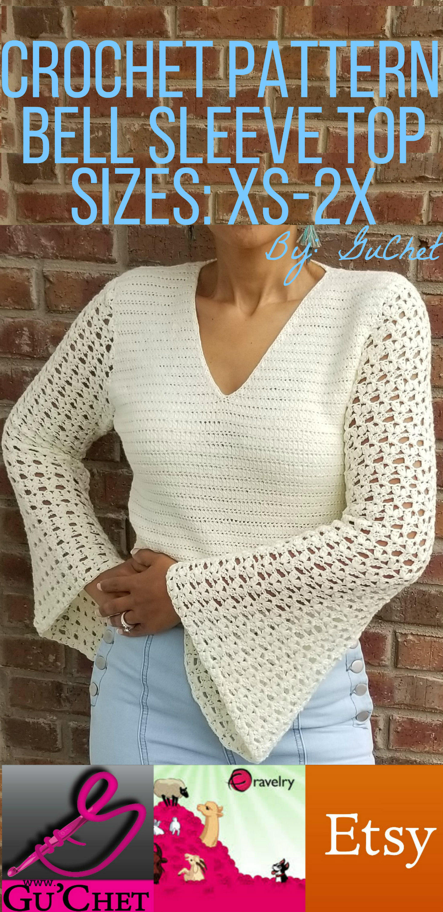 3_Crochet Top Pattern by GuChet_Bell Sleeve Top_25.jpg
