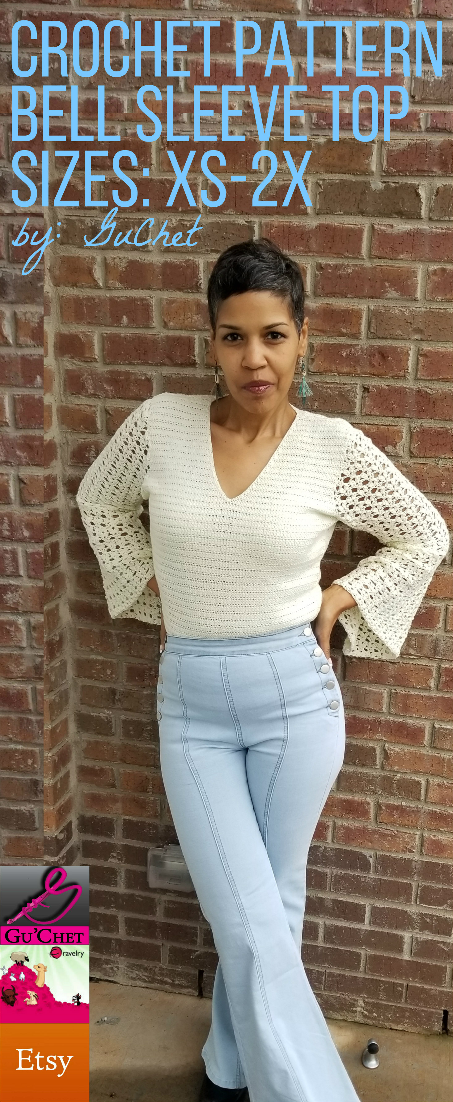 6_Crochet Top Pattern by GuChet_Bell Sleeve Top_15.jpg