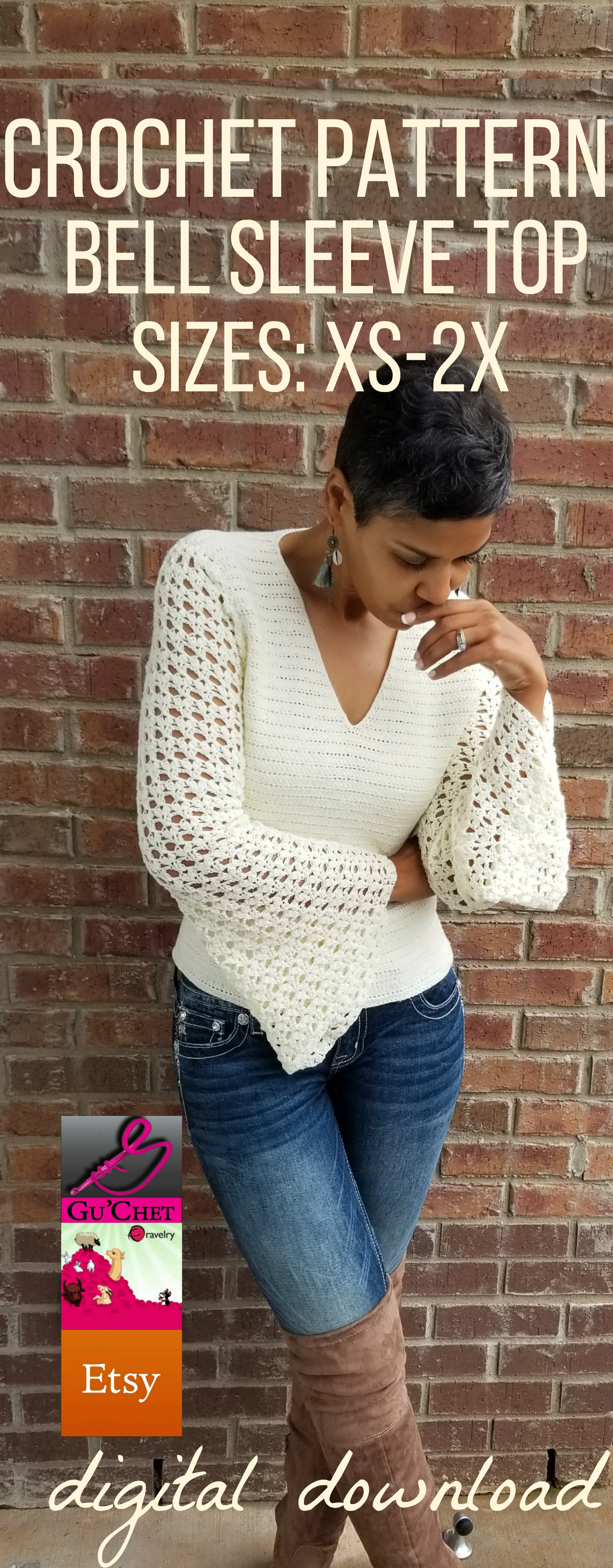 7_Crochet Top Pattern by GuChet_Bell Sleeve Top_1.jpg