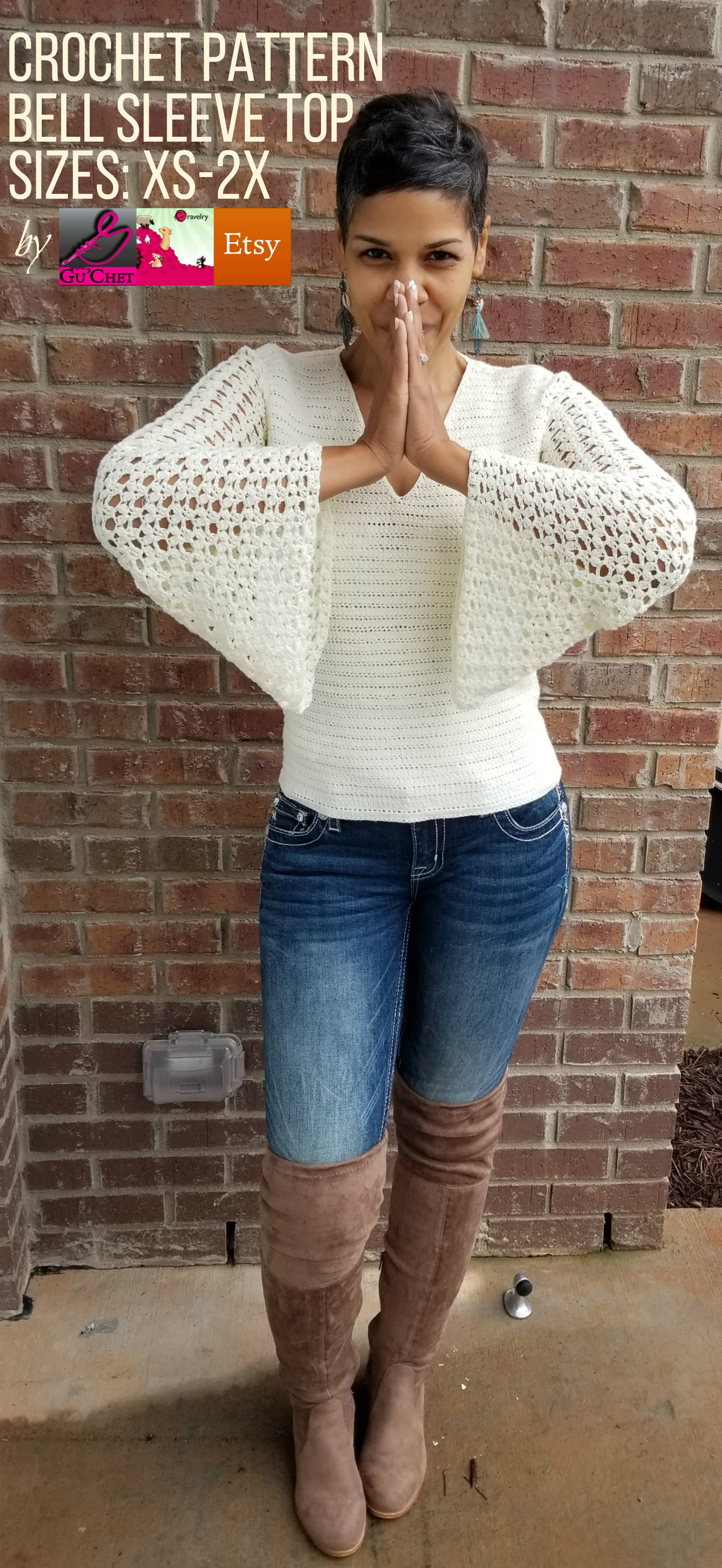 8_Crochet Top Pattern by GuChet_Bell Sleeve Top_3.jpg