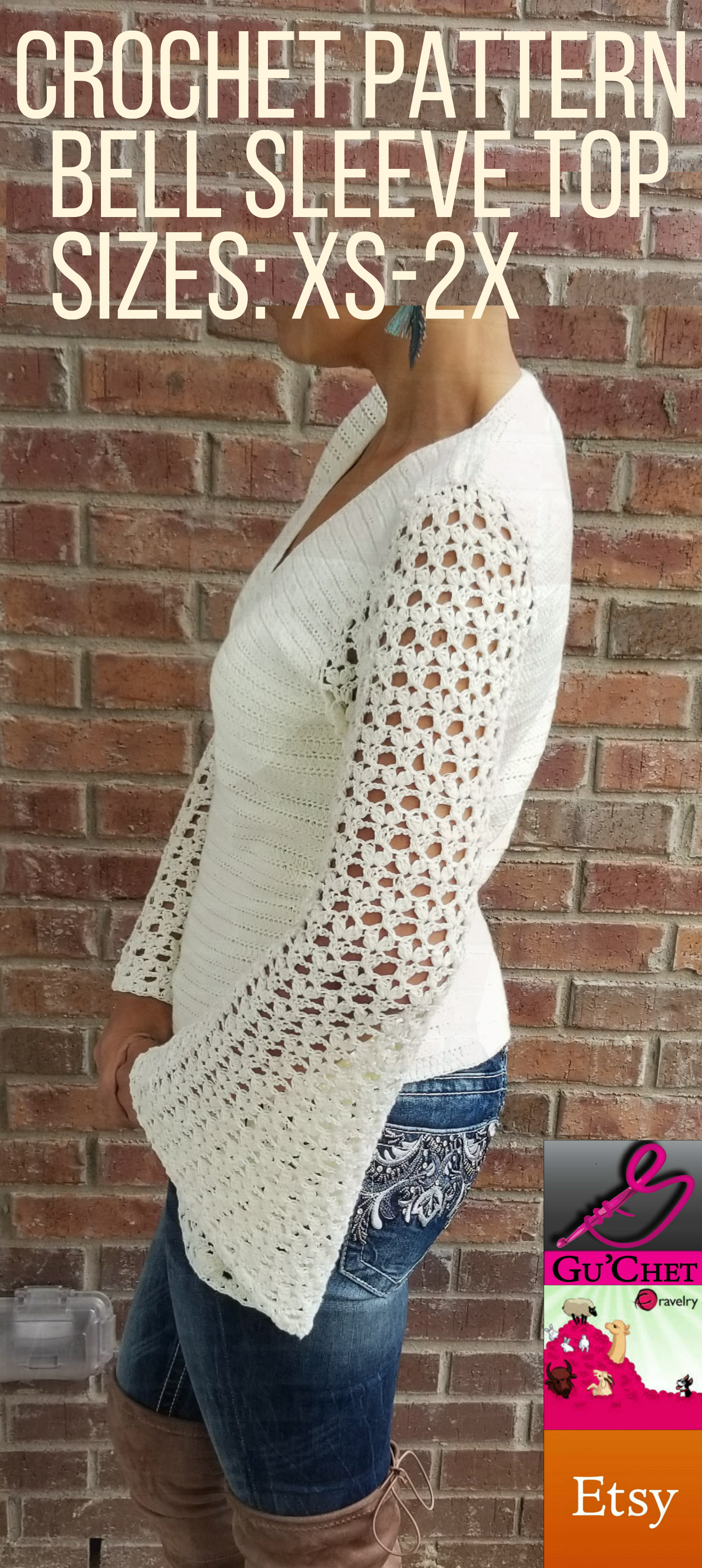 12_Crochet Top Pattern by GuChet_Bell Sleeve Top_5.jpg