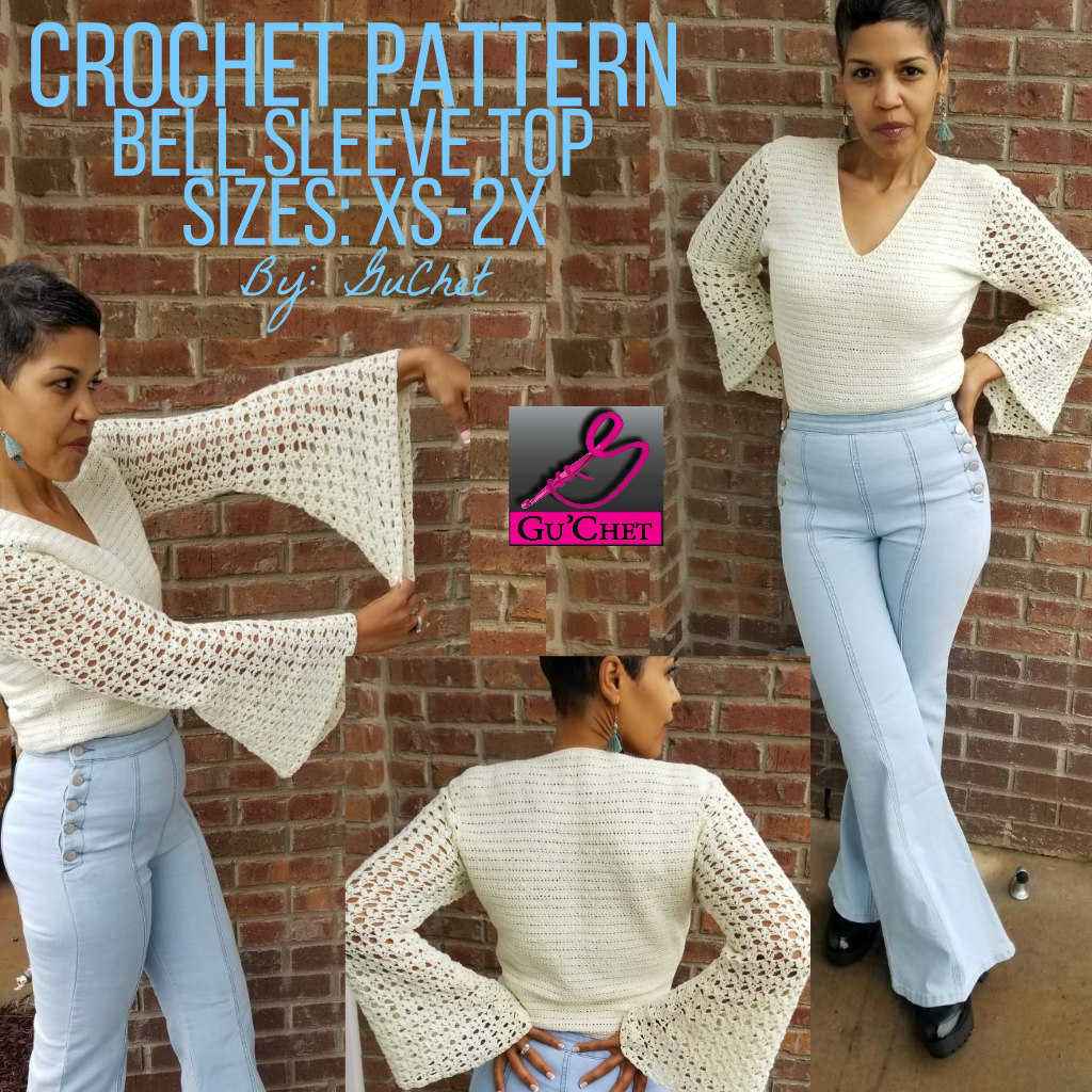96_Crochet Top Pattern by GuChet_Bell Sleeve Top_Collage 9.jpg