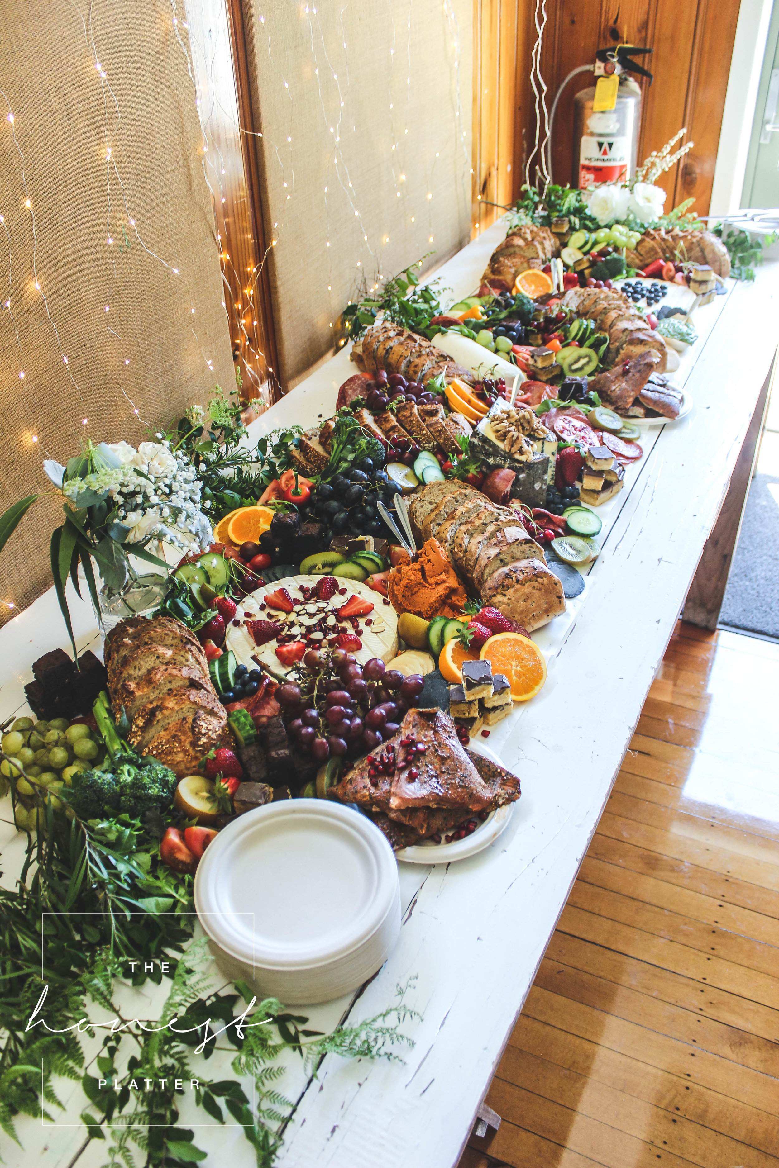 Wedding Catering | Grazing Table | The Honest Platter | Bay of Plenty, NZ
