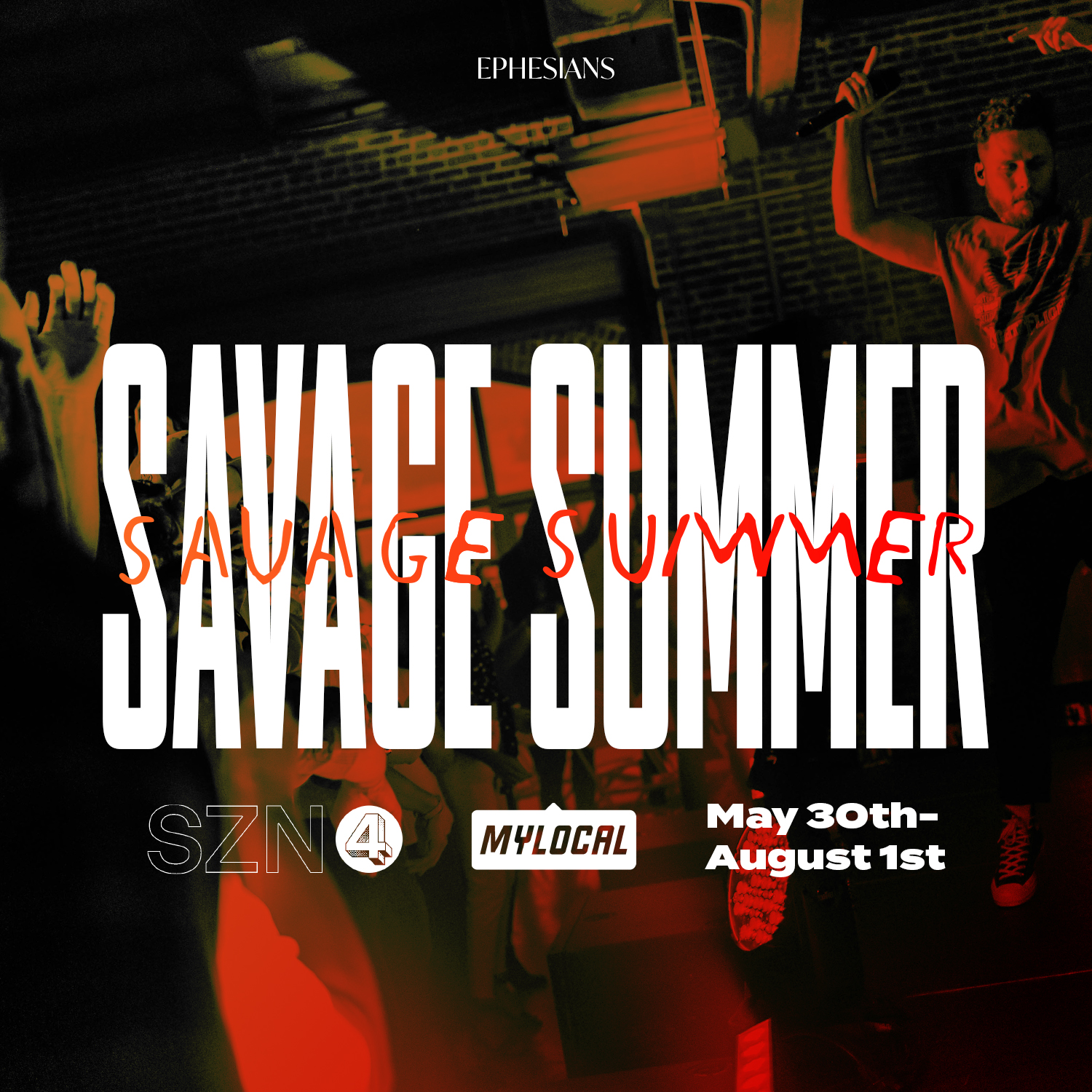 Savage Summer Announcement Graphic.