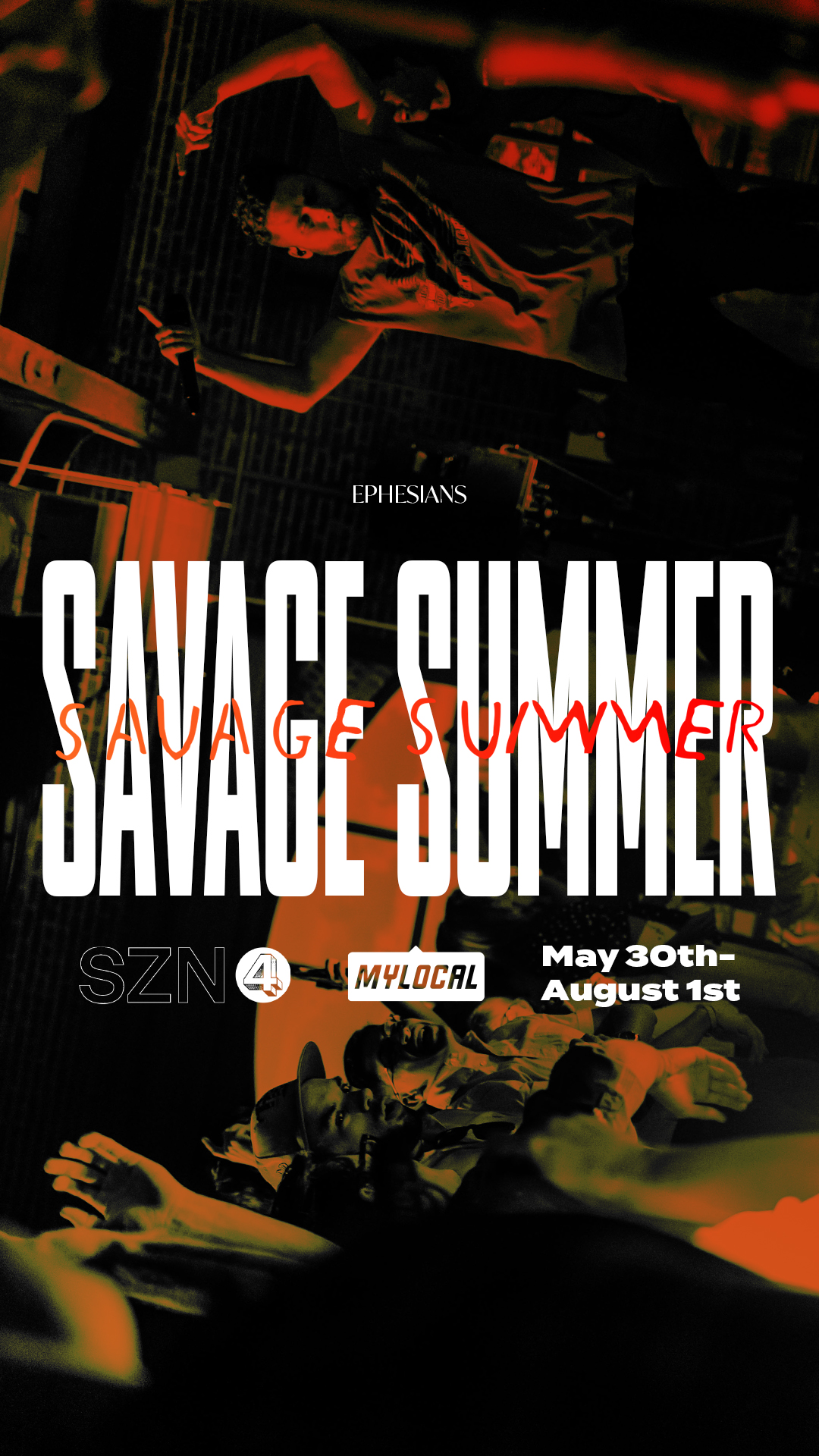 Savage Summer IG Announcement Story Graphic.