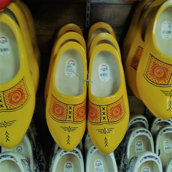 Walk a mile in wooden shoes - bearing Sigils on their toes?