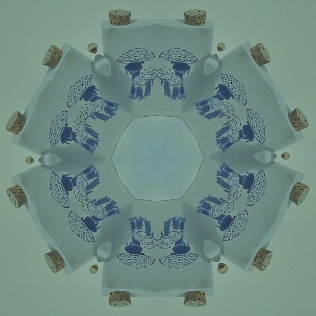Another: Mushie Mandala - for the Blue Ones.