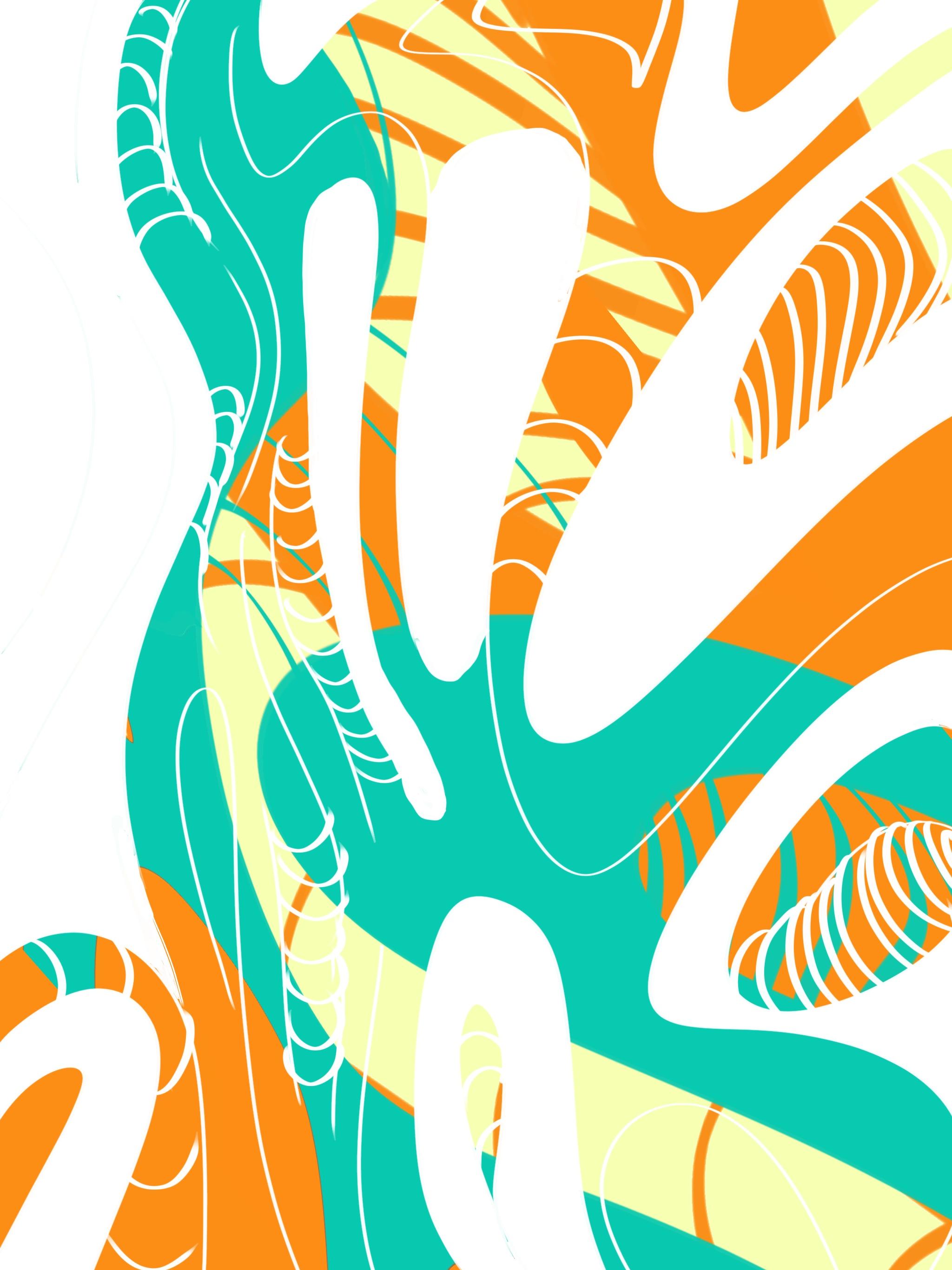 Design drawn on Procreate and edited on Illustrator