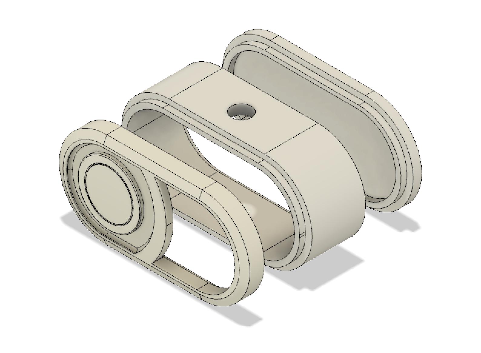 CAD model in Fusion 360