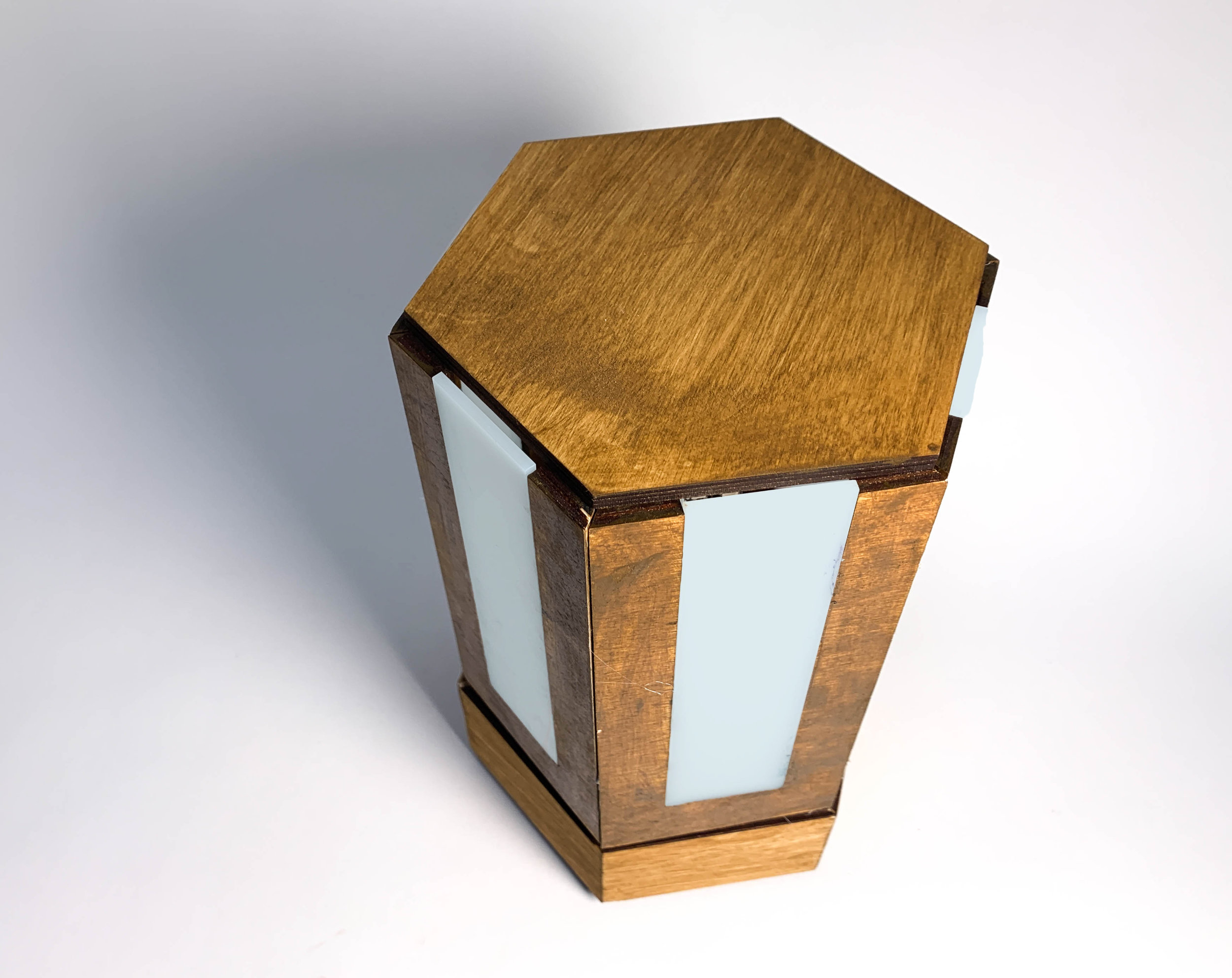 Idle State of Lamp: designed to save money on the electricity bill