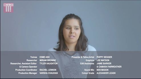 Esme's first credit