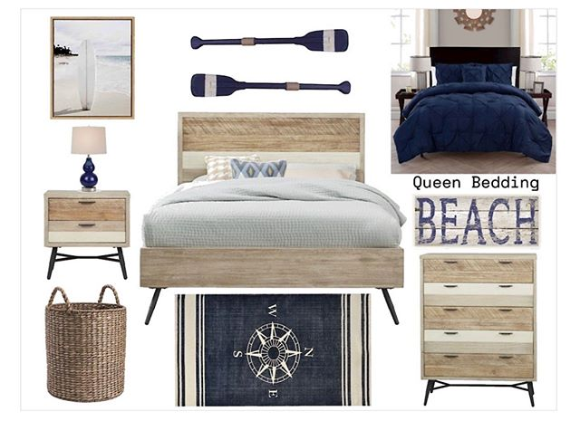 New project in the works! Excited to get started on this adorable guest bedroom. 👍🏻 #interiordesign #interiorsbykaitlyn #moodboard #designboards