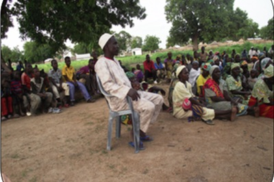 Cameroon - CAMEROON: Haman Yallah, Lawane de Mogong is a village chief in northern Cameroon. Chief Haman expressed his gratitude to Harambee for the support we have given to the Mogong-Moutourwa Primary School in these terms: