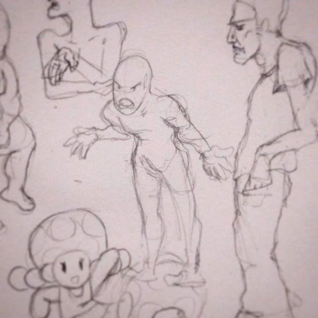 What the heck, man!? #sketch #posing #figuredrawing