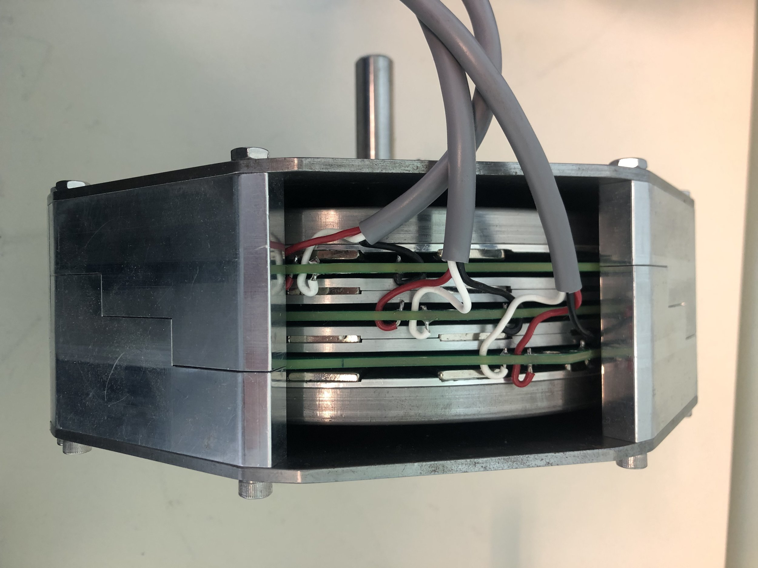 "Prototype motor module: Stacked ""rotor"" design - 2016"