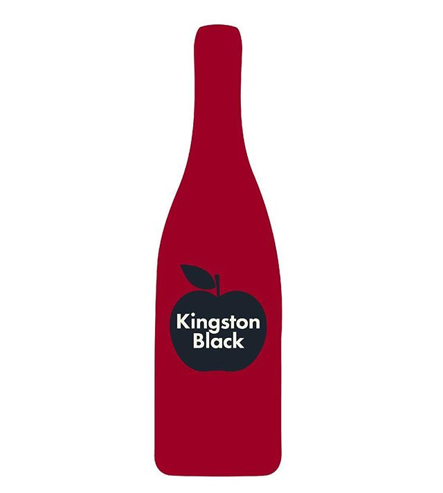 "#84: KINGSTON BLACK . . . Kingston Black is a bittersharp English cider apple, and the first apple variety to show up on this list. Recognizable because of its dark red skin, it's here because it can stand on its own as a single-varietal cider, thanks to its balance of tannin, sugar, and acidity. Cidermakers call the apple ""long treasured,"" ""praised and admired,"" and ""tricky."" Trees can be low yielding and susceptible to disease, but like any great diva of a soloist, what it does produce really shines. . . . #cider #ciderapples #kingstonblack #bittersharp #singlevarietal #pickcider #heritagecider #cideriscider #ciderwords #ciderlanguage #ciderlexicon #apples #whatsinthebottle"
