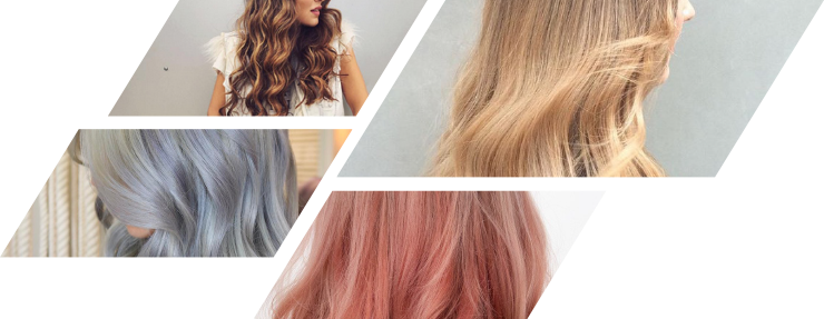 Hair extensions colours