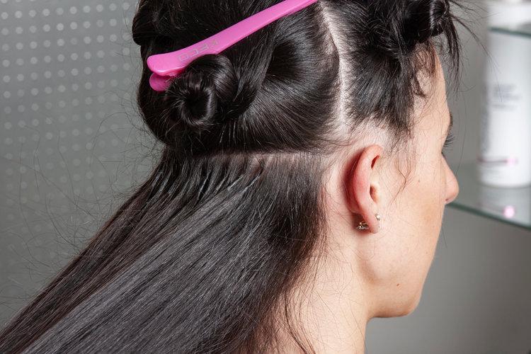 coiffure mariage avec extension cheveux 4