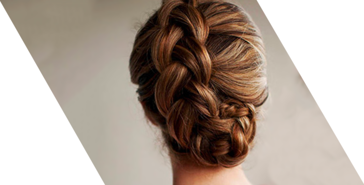 hair accessories: intricate braids and braided up-dos
