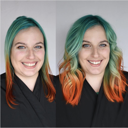 how to use hair extensions: gl tapes for volume