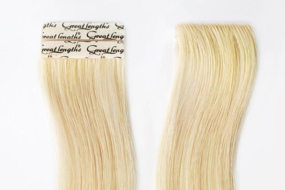 nombreux types d'extensions de cheveux