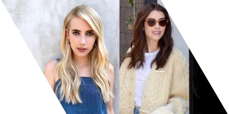 celebrities with hair extensions: Emma Roberts