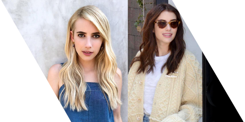 Extensions de cheveux: Emma Roberts