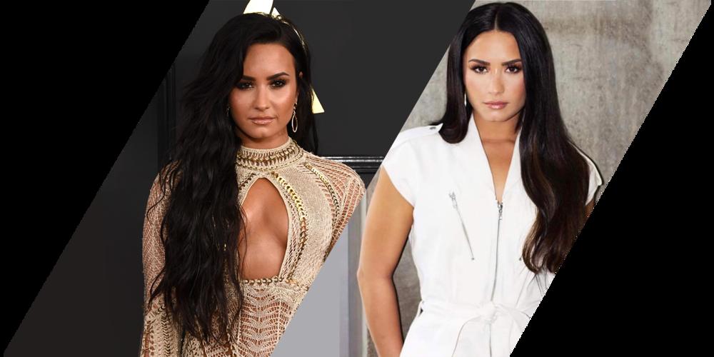Extensions de cheveux: Demi Lovato