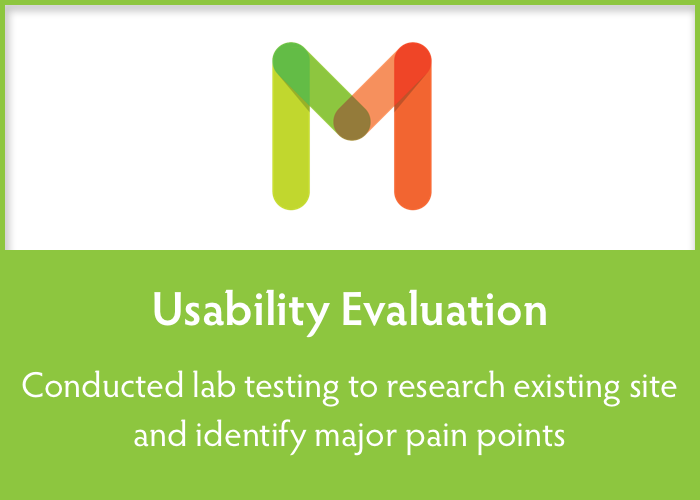 USABILITY EVALUATION  Identified key areas for improvement and visualized recommendations for development team.