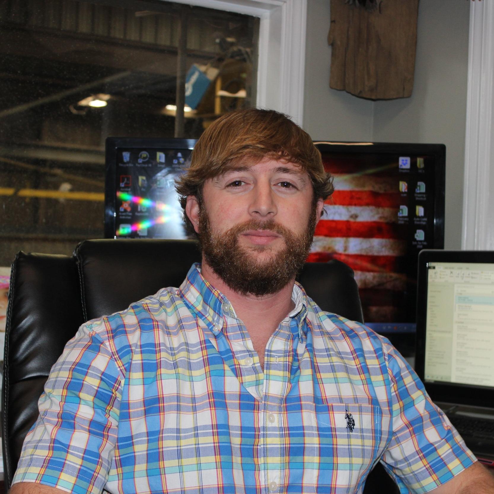 Bradley Barrett, Plant Manager