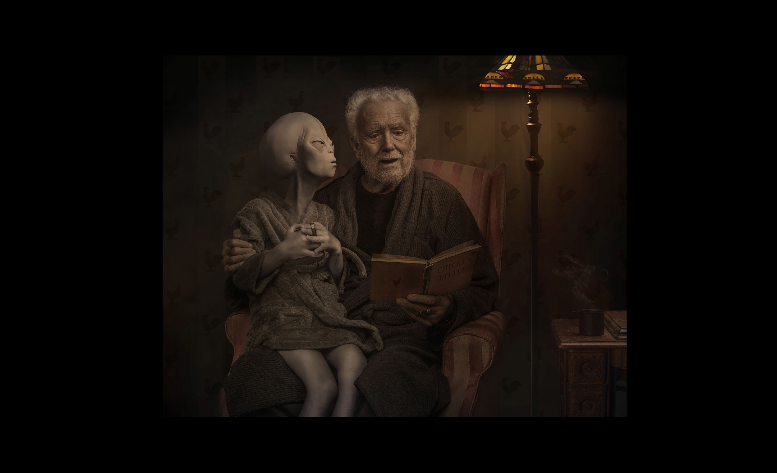 Illustrative Photography - The Alien and the Farmer. Part 3