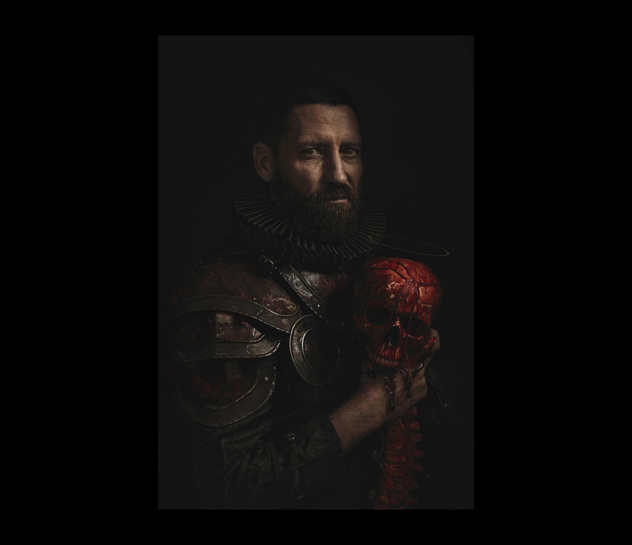 Creative Portrait Photography - The Martyr Maker