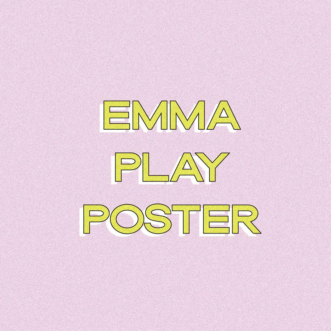 Emma Play Promo poster