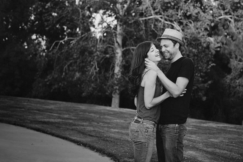 Candid engagement portrait by Sacramento Photographer Mayumi Acosta.jpg