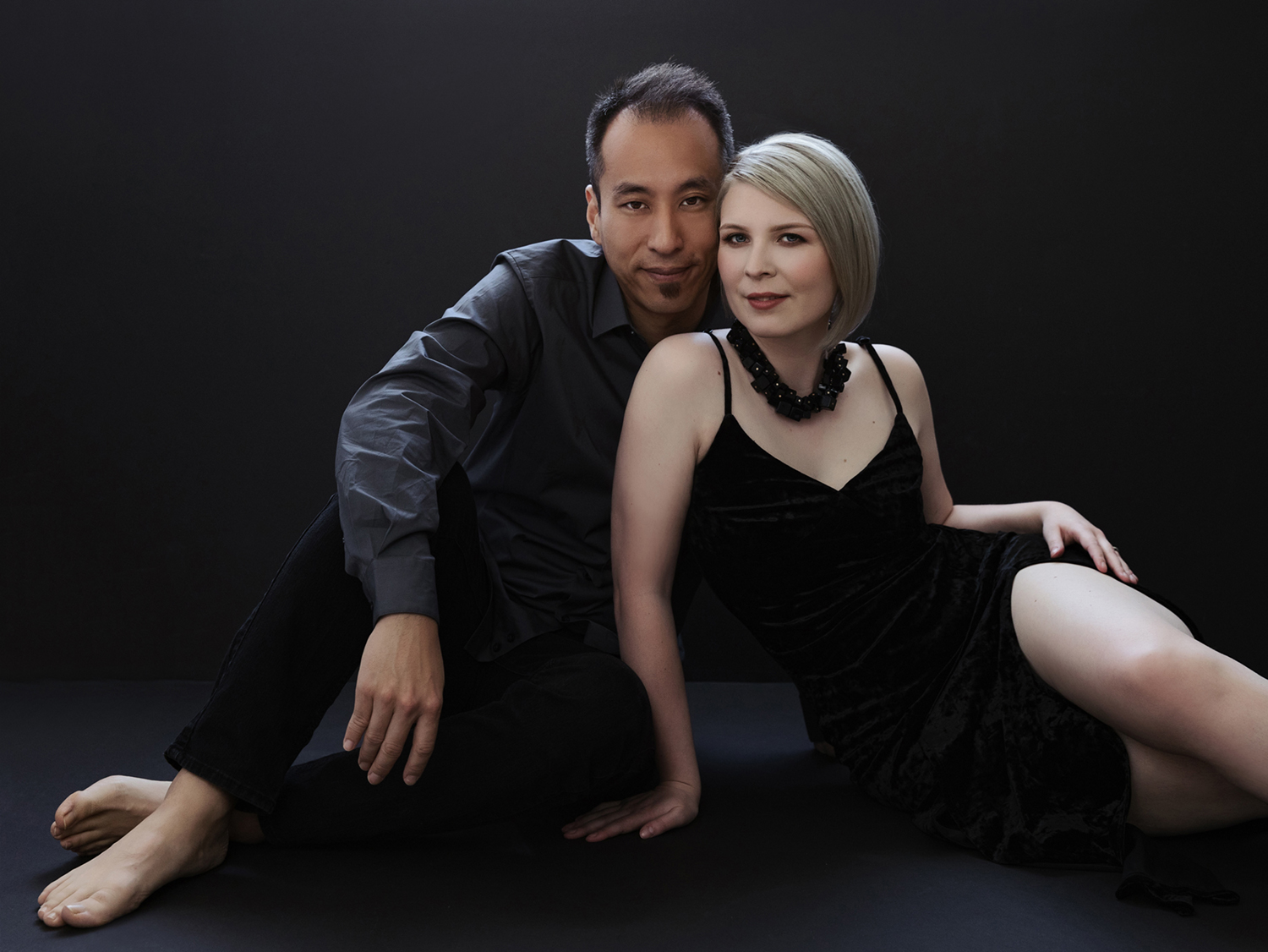 Studio Portrait of couple by Mayumi Acosta Photography.jpg