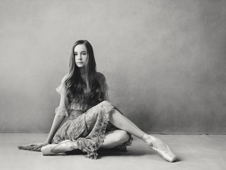 Portrait of Sacramento ballet dancer by Mayumi Acosta.jpg