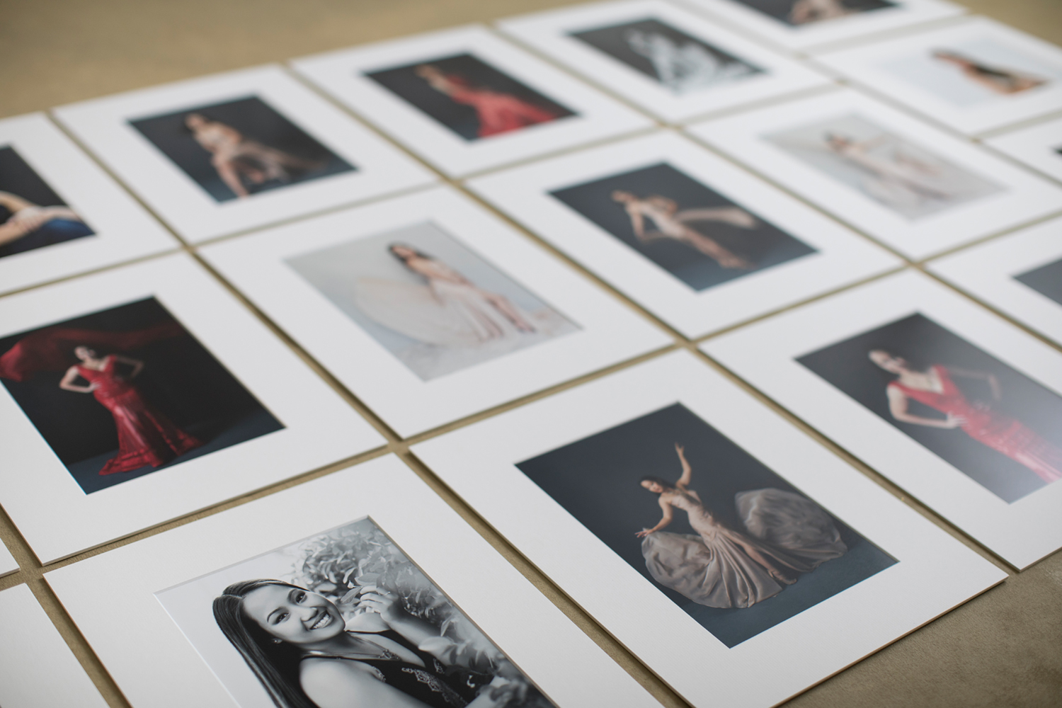 Matted portraits and collections by Mayumi Acosta Photography.jpg