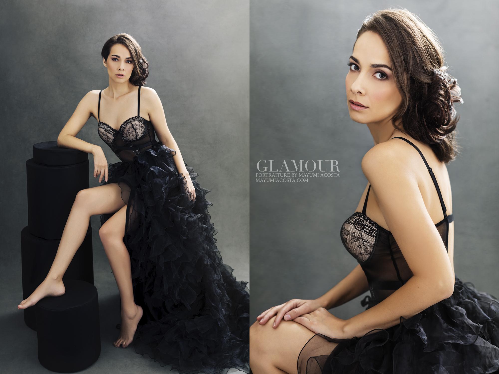 Stunning glamour photography by Mayumi Acosta