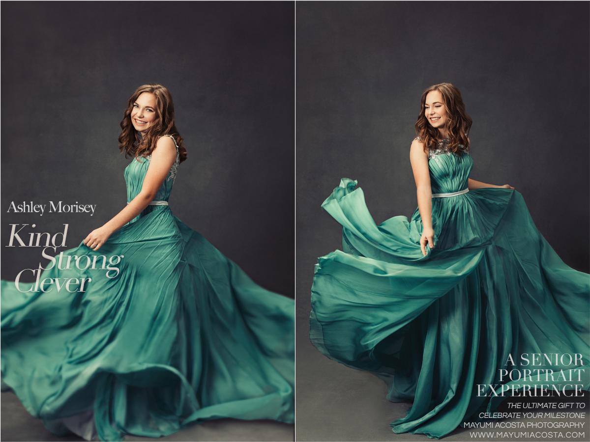 Magazine Style Photographs of Sacramento High School Senior